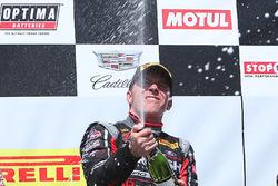 Race winner Jack Roush Jr.