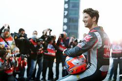 Romain Grosjean, Haas F1 Team VF-16 during the team's unveiling