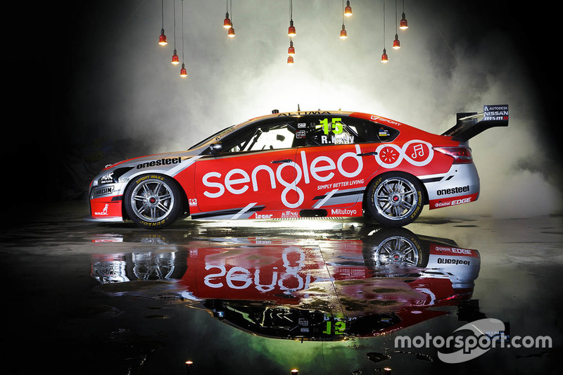 Das Fahrzeug von Rick Kelly, Nissan Motorsports