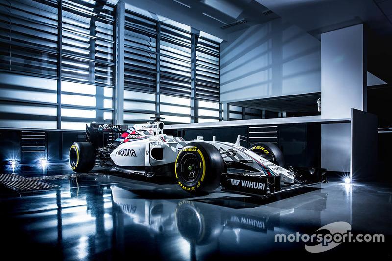 Das Design von Felipe Massa, Williams FW38