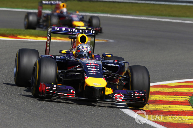 33. El Red Bull Racing RB10 de F1