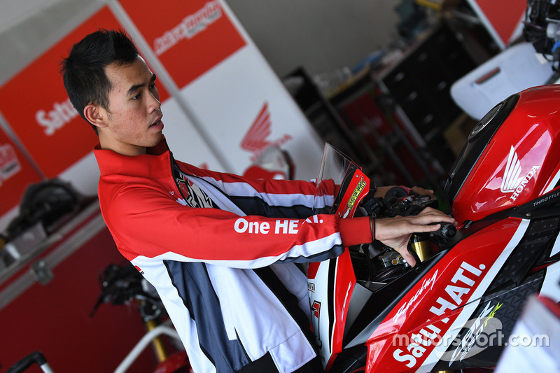 AP250: Gerry Salim, Astra Honda Racing Team