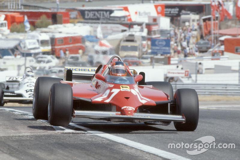 1981: Gilles Villeneuve, Ferrari 126CK