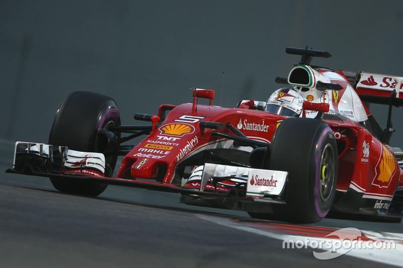 3. Sebastian Vettel, Scuderia Ferrari SF16-H