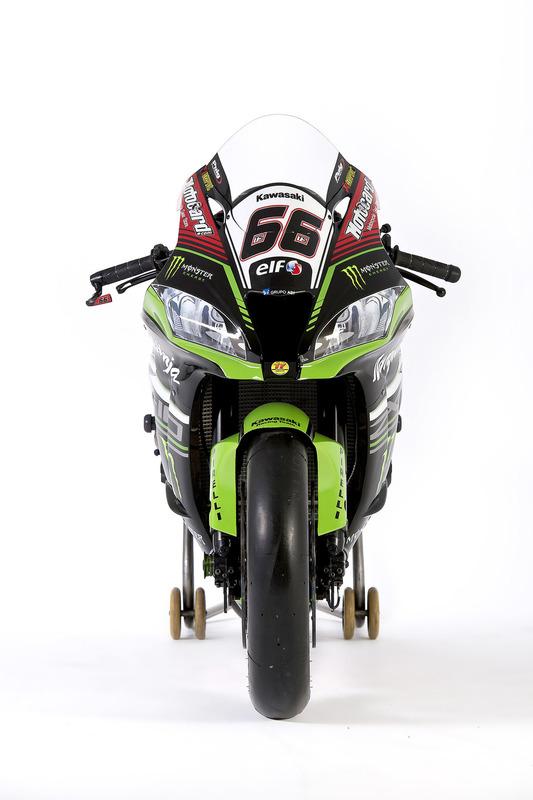 La moto di Tom Sykes, Kawasaki Racing, Ninja ZX-10RR