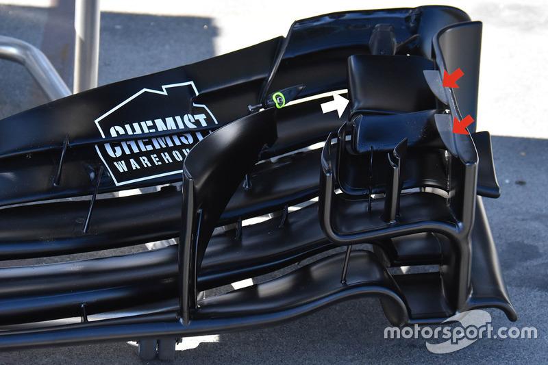 Williams FW40 переднє антикрило