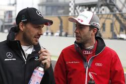 Gary Paffett, Mercedes-AMG Team HWA, Mercedes-AMG C63 DTM; Mike Rockenfeller, Audi Sport Team Phoenix, Audi RS 5 DTM