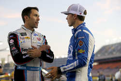 Aric Almirola, Richard Petty Motorsports Ford Trevor Bayne, Roush Fenway Racing Ford