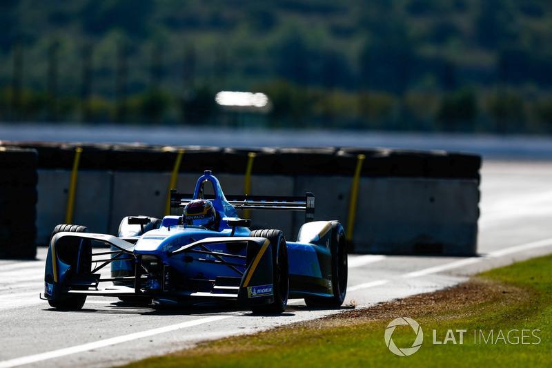 Formel-E-Test in Valencia, Oktober