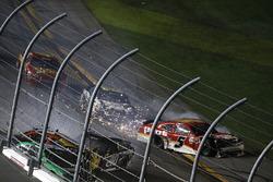 Brandon Hightower, Toyota, crash