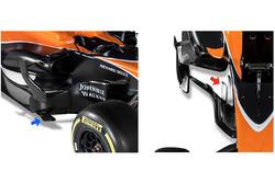 Дефлекторы McLaren MCL32