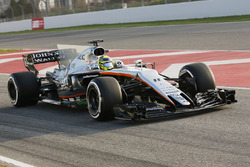 Sergio Perez, Force India VJM10 Mercedes