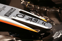 Detalle del Sahara Force India F1 VJM10