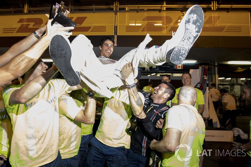 Gewinner: Lance Stroll (Williams)