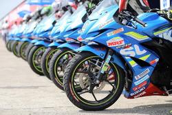 Suzuki Gixxer Cup bikes