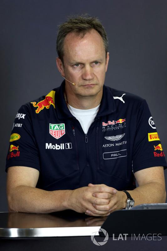 Paul Monaghan, Red-Bull-Chefingenieur