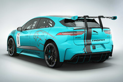 Jaguar I-PACE eTROPHY car