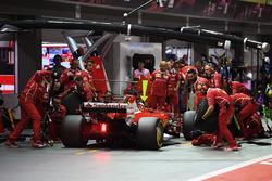 Pitstop de Sebastian Vettel, Ferrari SF70H