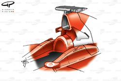 Ferrari F2001 (652) 2001 airbox
