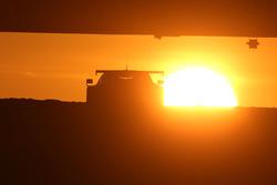 Le lever du soleil au Mans