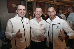 Norbert Michelisz, Honda Racing Team JAS, Honda Civic WTCC; Nestor Girolami, Polestar Cyan Racing, Volvo S60 Polestar TC1; Esteban Guerrieri, Campos Racing, Chevrolet RML Cruze TC1