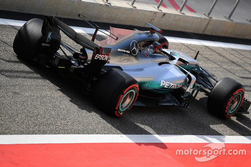 Общий вид Mercedes F1 W08
