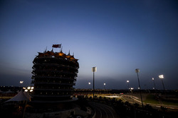 Bahrain International Circuit bei Nacht