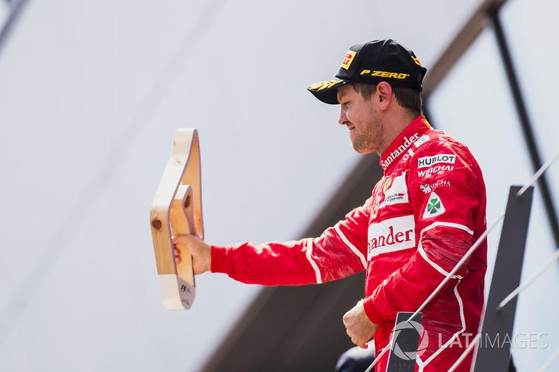 2. Sebastian Vettel, Ferrari