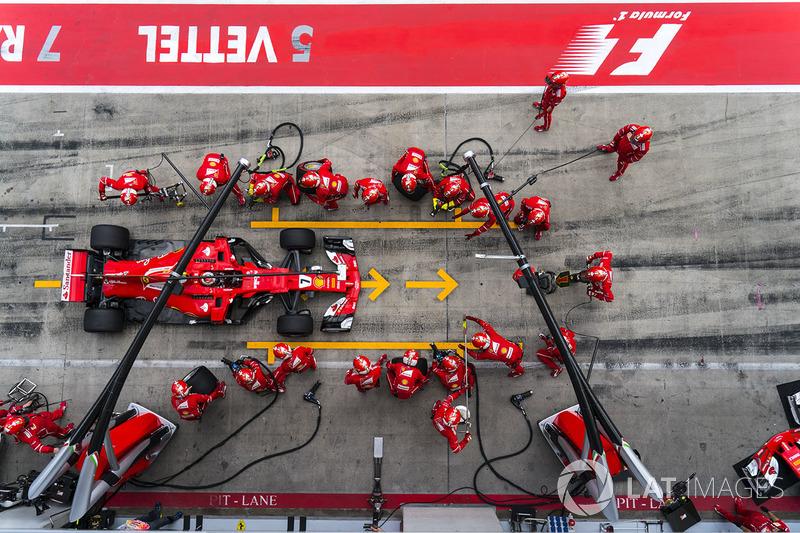 5. Kimi Raikkonen, Ferrari SF70H