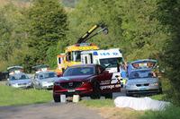 Unfallstelle, Martin Wittwer, Peugeot 205, ACS