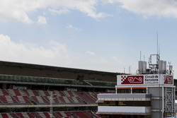 Haupttribüne am Circuit de Barcelona-Catalunya