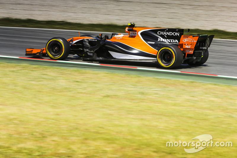 20. Стоффель Вандорн, McLaren MCL32 (штраф у десять позицій за заміну компонентів мотора)
