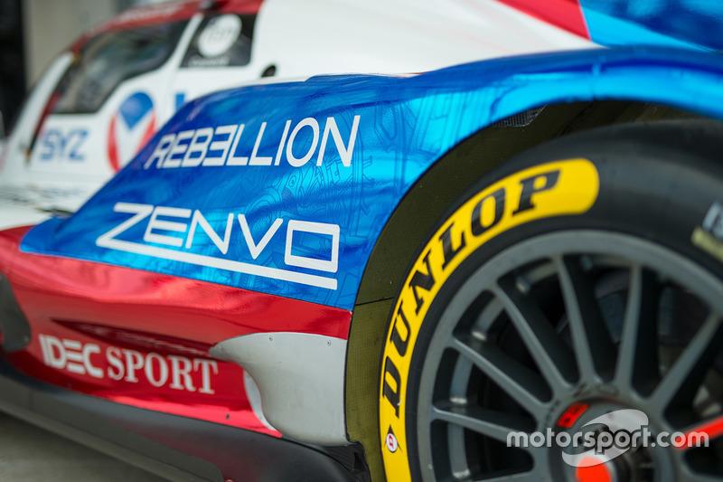 Detail, Rebellion Racing