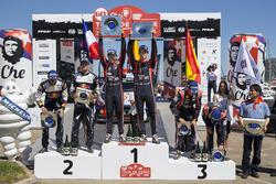 Podium: 1. Thierry Neuville, Nicolas Gilsoul, Hyundai i20 Coupe WRC, Hyundai Motorsport; 2. Sébastien Ogier, Julien Ingrassia, M-Sport, Ford Fiesta WRC; 3. Dani Sordo, Marc Marti, Hyundai Motorsport, Hyundai i20 Coupe WRC