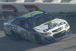 Ty Dillon, Germain Racing Chevrolet, crash