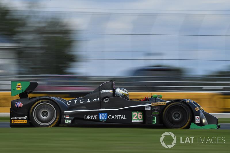 #26 BAR1 Motorsports ORECA FLM09: Марк Квамме, Густаво Якаман