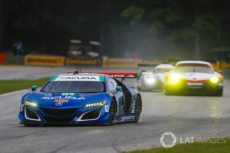 #93 Michael Shank Racing Acura NSX: Енді Лаллі, Кетрін Легг