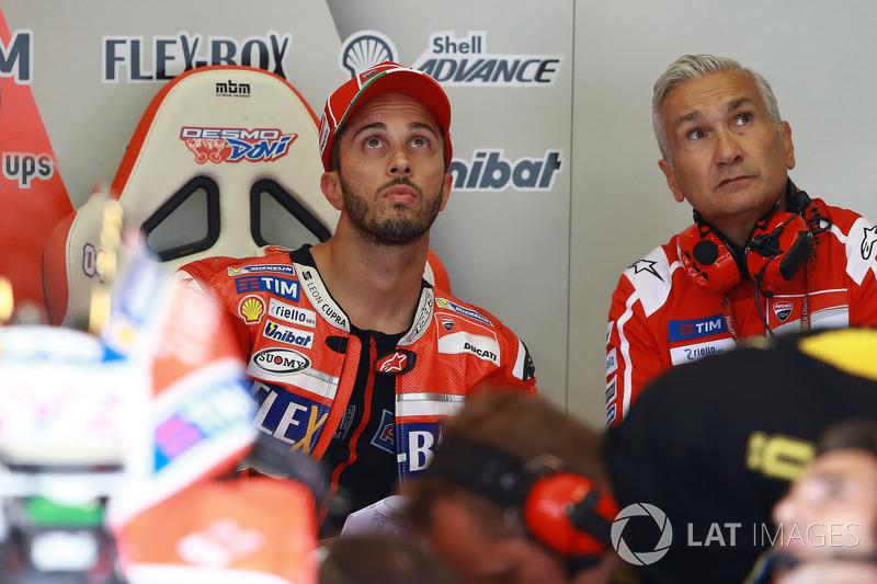 Андреа Довіціозо, Ducati Team, Давіде Тардоцці, керівник команди Ducati Team