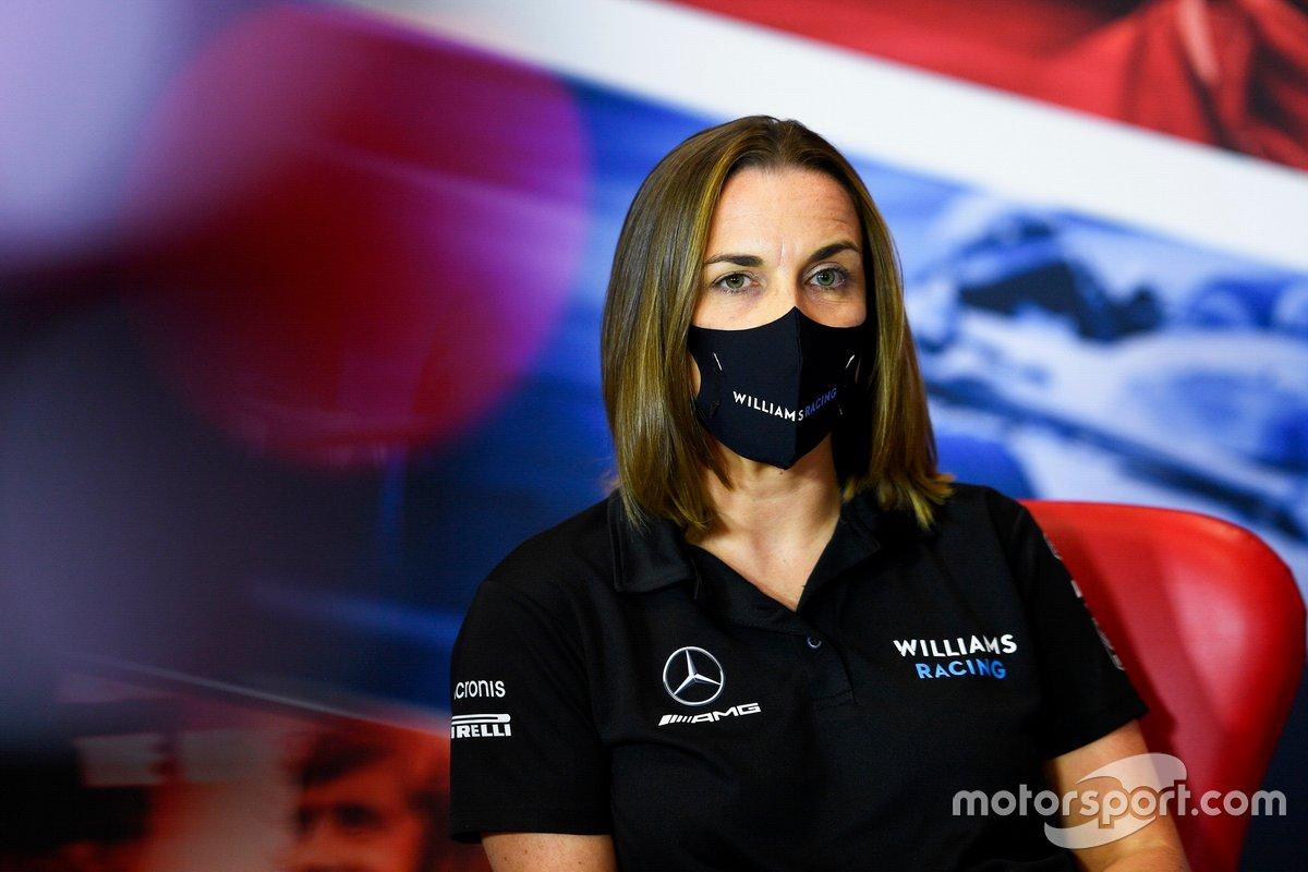 Клэр Уильямс, заместитель руководителя Williams Racing