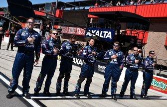 William Byron, Hendrick Motorsports, Chevrolet Camaro Axalta crew