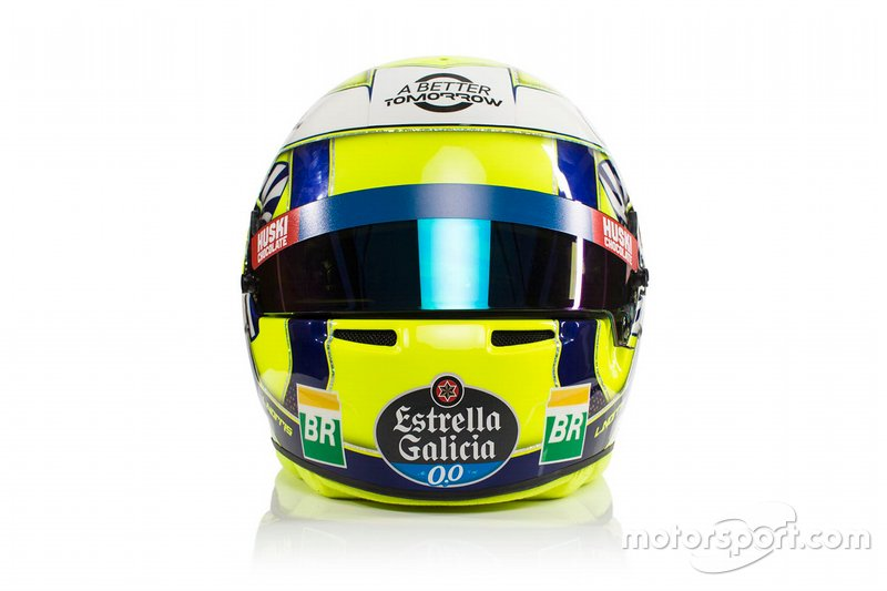Helm Lando Norris, McLaren