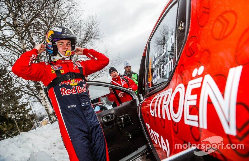 Esapekka Lappi, Citroën C3 WRC, Citroën World Rally Team