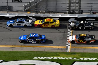 Alex Bowman, Hendrick Motorsports, Chevrolet Camaro Nationwide, Ricky Stenhouse Jr., Roush Fenway Racing, Ford Mustang Fastenal, Joey Logano, Team Penske, Ford Mustang Shell Pennzoil, Matt DiBenedetto, Leavine Family Racing, Toyota Camry Procore, Kevin Harvick, Stewart-Haas Racing, Ford Mustang Busch Beer Car2Can