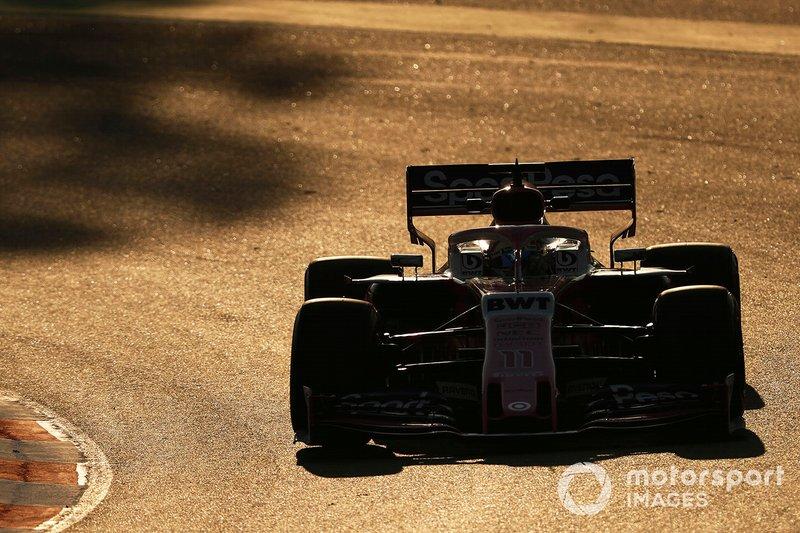Серхіо Перес, Racing Point F1 Team RP19