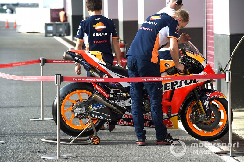 Repsol Honda Team bike