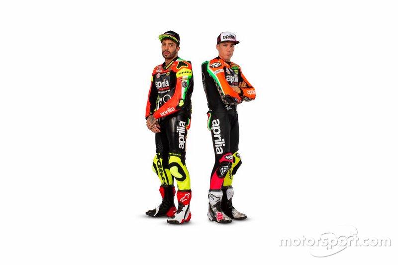 Aleix Espagaro, Andrea Iannone, Aprilia Racing Team Gresini