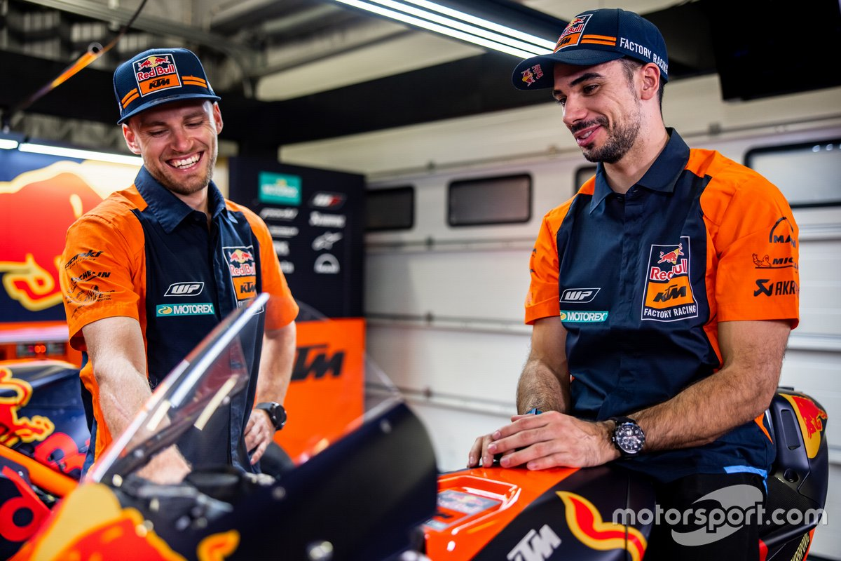 Brad Binder, Red Bull KTM Factory Racing and Miguel Oliveira, Red Bull KTM Factory Racing