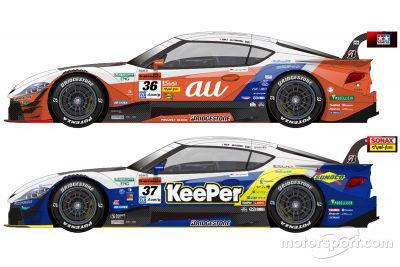 Ливрея TOM'S в сезоне-2020 Super GT