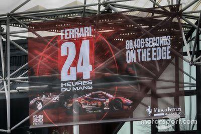 24h Le Mans at Ferrari Museum