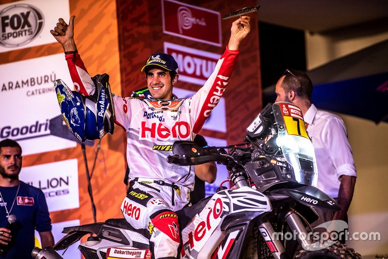 #7 HERO Motorsports Team Rally: Oriol Mena